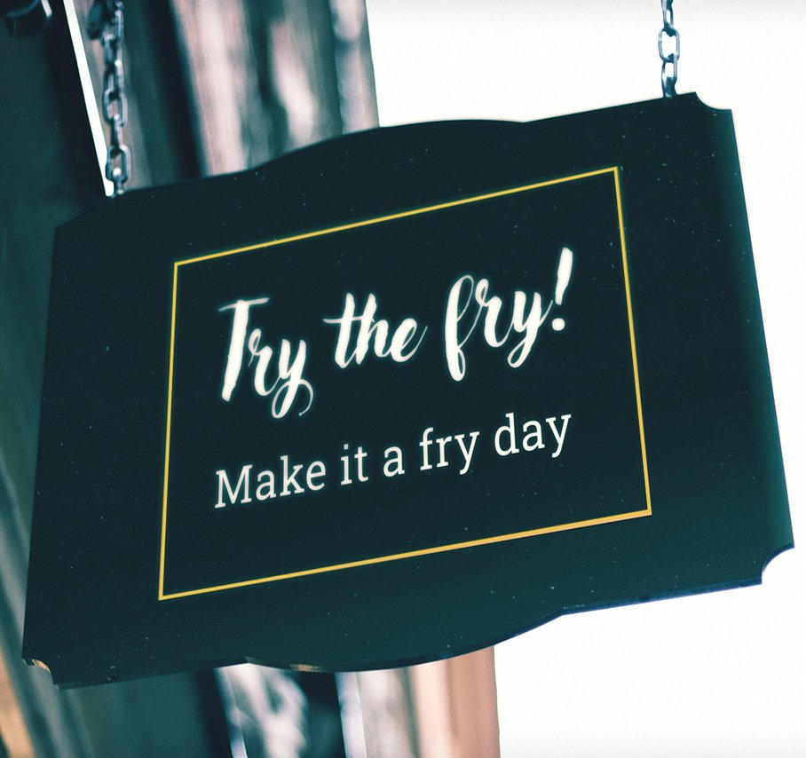 Try-the-Fry-Signage