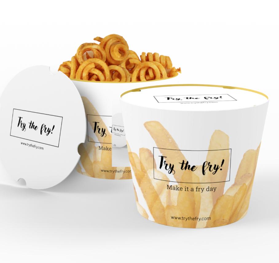 Fries-bucket